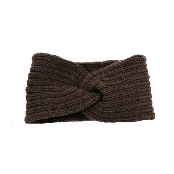headband marron en forme de vague, accessoires de mode pour cheveux femme