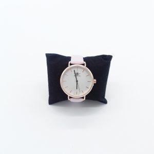 montre grand cadran doré bracelet rose bijoux fantaisie et accessoires de mode femme à Lyon