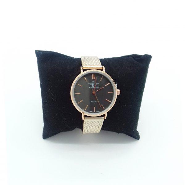 montre couleur rose dorée petit cadran bijoux fantaisie et accessoires de mode femme à Lyon