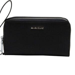 grand portefeuille noir, accessoires de mode pour femmes à Lyon, bijoux, montres, écharpes...