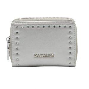 petit portefeuille couleur argent, accessoires de mode pour femmes à Lyon,bijoux , montres, écharpes....