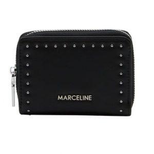 petit portefeuille noir, accessoires de mode pour femmes à Lyon,bijoux , montres, écharpes....